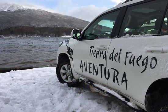 Lacs d'hiver hors route d'Ushuaia