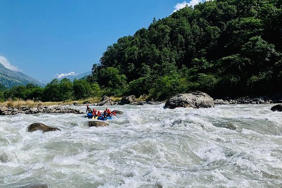 3 days Upper Budhi Gandaki whitewater...