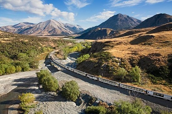 Day Trip to Arthur's Pass including TranzAlpine Train from...