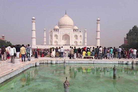 德里乘火车从德里进行全日阿格拉泰姬陵私人之旅