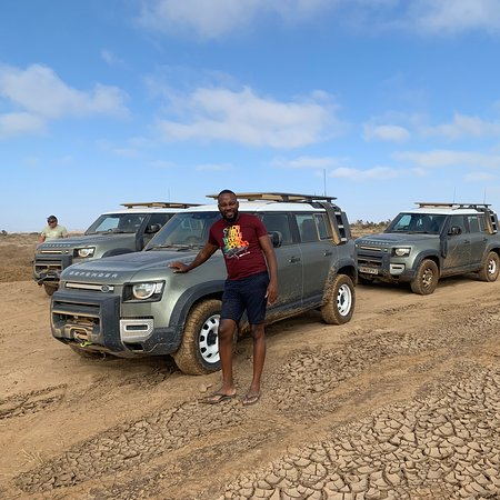 Парк Берег скелетов, Намибия: Land Rover Discovery experience