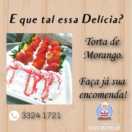 Ibiruba, RS: Torta de morango.