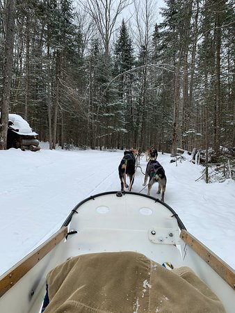Eden Mills, VT: Enjoying our adventure with the beautiful scenery.