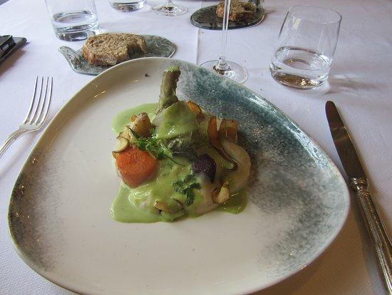 Velluire, ฝรั่งเศส: Cochon Ibérique Pata Nagra ....