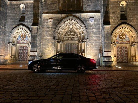 Jesenice, Czech Republic: Night in Prague