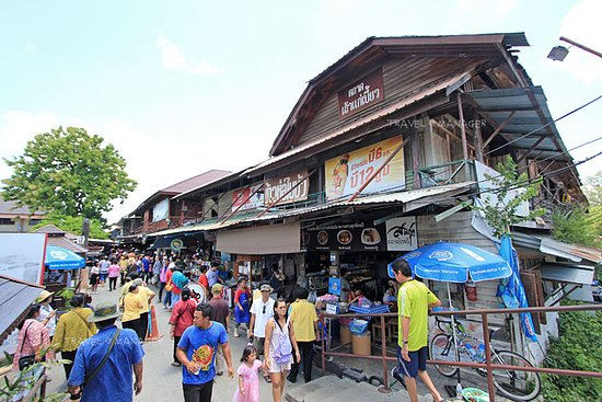 Sam Chuk, Таиланд: สามชุก ตลาดร้อยปี