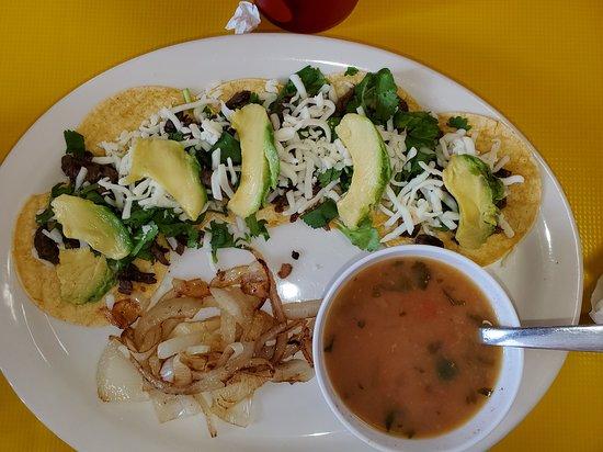 Raymondville, TX: Fajita Taco Plate