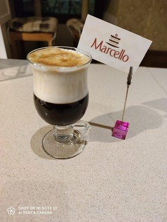 Pyszny Irish Coffee mocno alkoholowy ;)