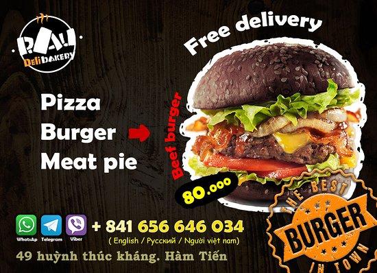 Pizza Burger Muine