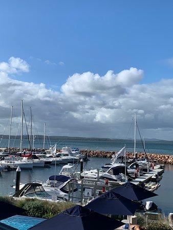 Corlette, Австралия: Peaceful bay beauty