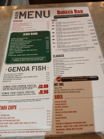 The Genoa Cafe