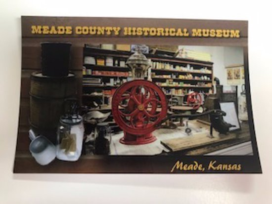 Meade, KS: Enjoy a trip down our boardwalk and learn about early American life as people were moving westward.