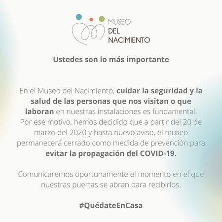 San Juan del Río, México: Cierre de instalaciones hasta nuevo aviso.