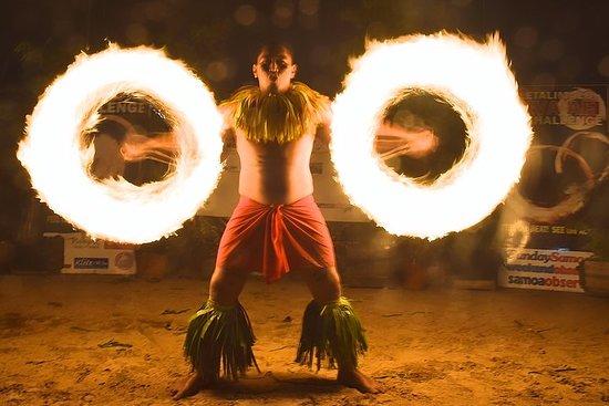 Siva Afi Cultural Show - Fire Knife...