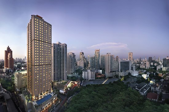曼谷蘇克哈姆維特公園萬豪行政公寓