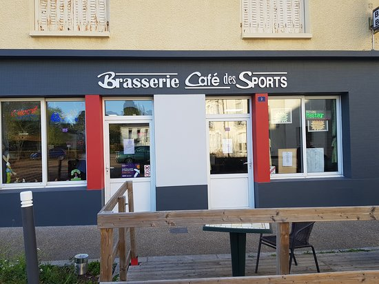 Vallons-de-L'Erdre, Франция: brasserie petite restauration rapide
