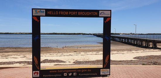 Port Broughton Jetty South Australia   picture frame
