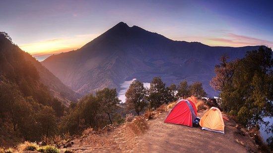 West-Nusa Tenggara, Indonesië: Mt. Rinjani park