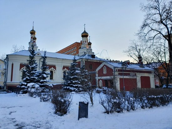 Temple of the Mother of God's Icon of All the Afflicted-billede