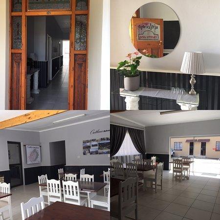 Ficksburg, Südafrika: Reseption and dinning area