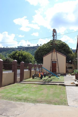 Ficksburg, Südafrika: Front play ground