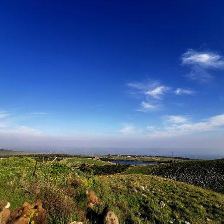 Chorazim, Israel: Korazim Plateau