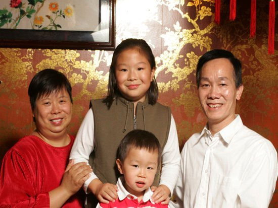 Thalwil, Suiza: Familie Truong