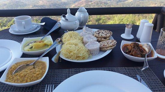 Берагала, Шри-Ланка: Sri Lankan Breakfast