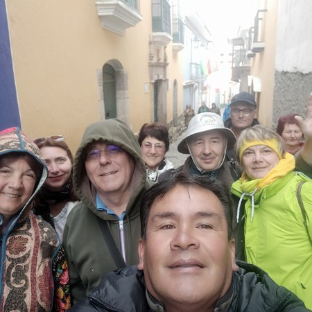 Департамент Ла-Пас, Боливия: City Tour - Calle Apolinar Jaén en La Paz.