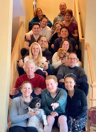 Chittenden, Вермонт: The entire family at Grand Vista