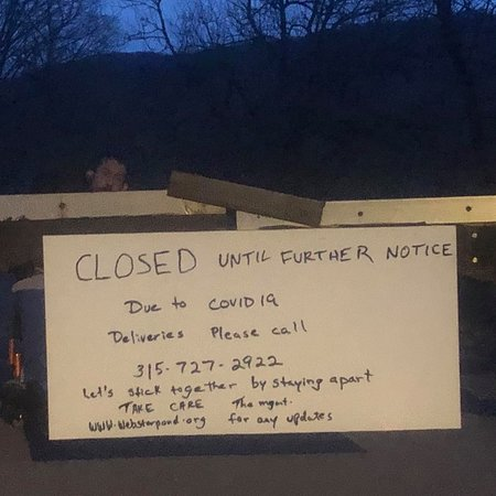 Syracuse, NY: CLOSED UNTIL FURTHER NOTICE