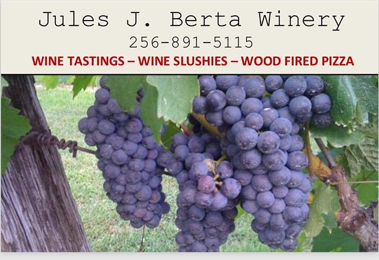 Albertville, AL: Jules J. Berta Vineyards