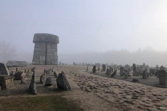 Tour of the Treblinka Extermination...