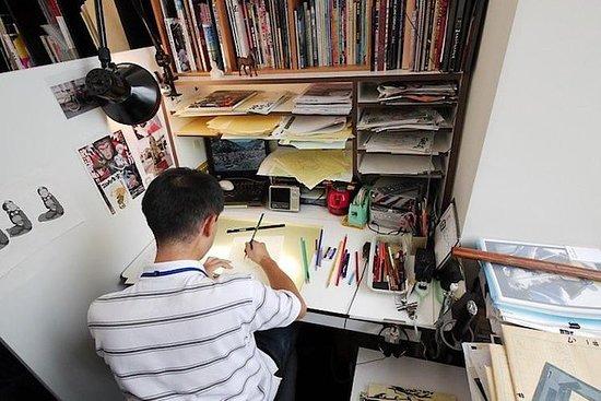 Anime Studio besøk og verksted