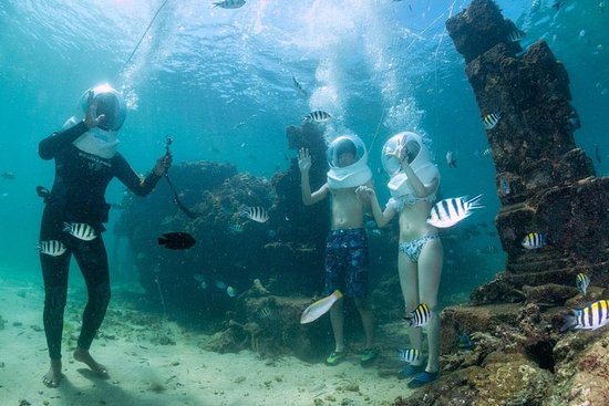 Full-Day Bali Seawalker Adventure in...
