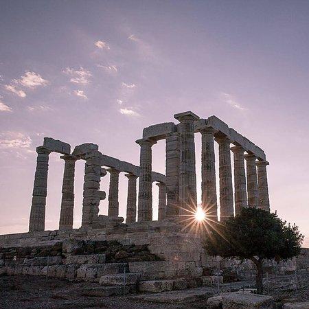 Sounion Τhe temple of Poseidon.Attica,Greece. Greek art beauty. Greece 🇬🇷 @VisitGreecegr Grece 🇬🇷 Grecia 🇬🇷 Griechenland 🇬🇷 beauty of ancient Greece 🇬🇷