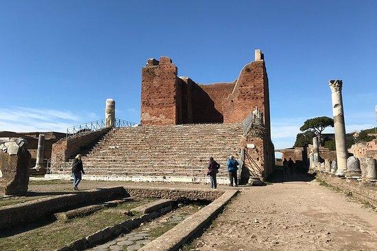 Private Tour durch Ostia, den alten Stadthafen, mit dem Van mit einem promovierten Archäologen Foto