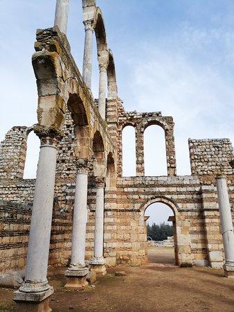 Anjar, Libanon: the casttle