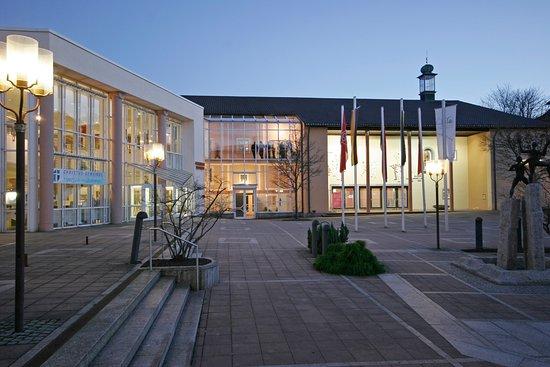 Freudenstadt, Németország: Vorplatz vor dem Kurhaus und dem Kongresszentrum