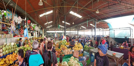 Solola, Guatemala: Halles aux fruits et légumes