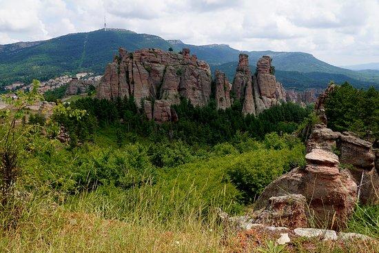Belogradchik, Bulgarije: Panorama ze szczytu fortecy