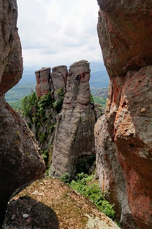Belogradchik, Bulgarije: Słupy skalne