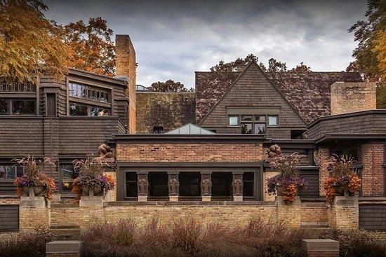 Visite architecturale Frank Lloyd Wright en tournée + point à point
