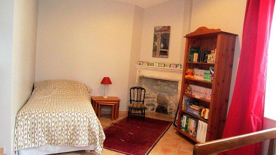 Puyravault, فرنسا: Chambre simple du Cottage (accessible handicap)