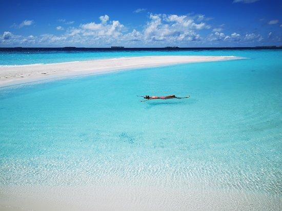 Gaafaru: Sand Bank