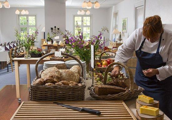 Skarrild, Дания: Restaurant