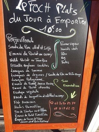 Loos, France: Bonjour propositions des plats du jours sur réservations  bonne journée à vous et courage à tous Dan