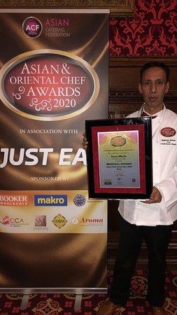 Asian & Oriental Chef Awards 2020! Tamarind announced the regional winner