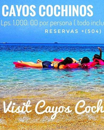 Cayos Cochinos, esta formados por trece (13) archipiélagos y dos (2) Islotes, estan cerca de La Ciudad de La Ceiba, Atlántida en Honduras. Un lugar que tienes que conocer, catalogado de los más hermosos en el Planeta.