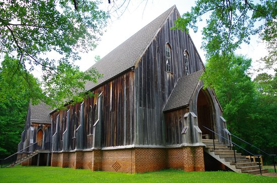 Orrville, AL: St. Luke's Church at Old Cahawba